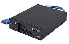SilverStone FP510 5.25in Bay Dual Drive Converter