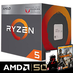 AMD Ryzen 5 2400G APU with Vega 11 Graphics
