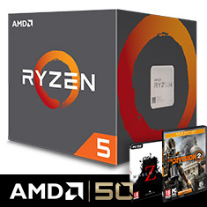 AMD Ryzen 5 2600X with Wraith Spire
