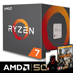 AMD Ryzen 7 2700 with Wraith Spire