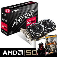 MSI Radeon RX 580 Armor OC 8GB