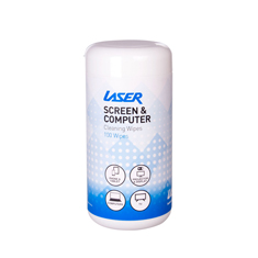 Laser Screen Cleaning Wipes 100 Pack