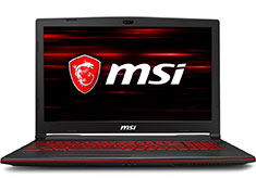 MSI GL63 Core i7 GTX 1650 15.6in Notebook