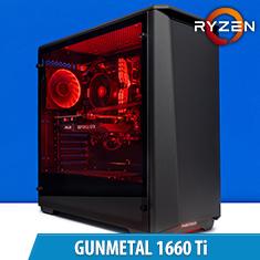 PCCG Gunmetal 1660 Ti Gaming System