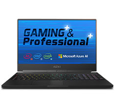 Gigabyte AERO 15 9th Gen Core i7 RTX 2080 15.6in 240hz Notebook