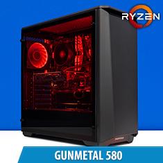 PCCG Gunmetal 580 Gaming System