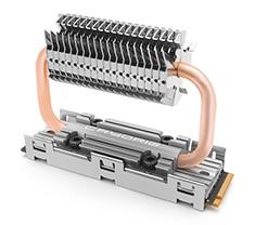 Cryorig Frostbit Dual Heatpipe M.2 Heatsink