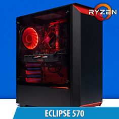 PCCG Eclipse 1050 Ti Gaming System
