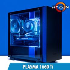 PCCG Plasma X 1660 Ti Gaming System