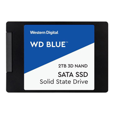 Western Digital Blue 2.5in SATA SSD 2TB