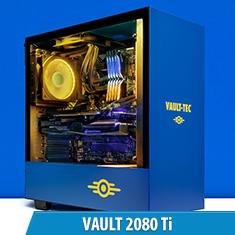 PCCG Vault 2080 Ti Gaming System