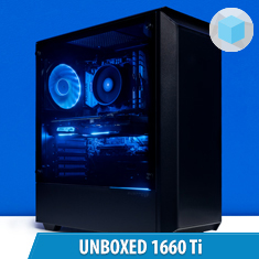 PCCG Unboxed 1660 Ti Gaming System