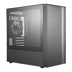 Cooler Master MasterBox NR400 Tempered Glass Compact Case