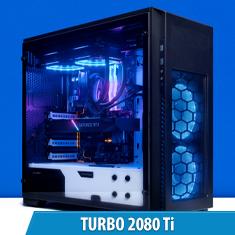 PCCG Turbo 2080 Ti Gaming System