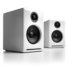 Audioengine A2+ Premium Wireless Speakers White