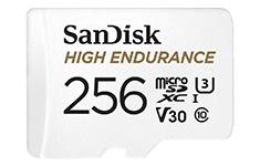SanDisk High Endurance MicroSDXC UHS-I 256GB