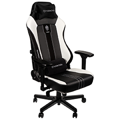 noblechairs HERO PU Leather Big Edition Gaming Chair Black White