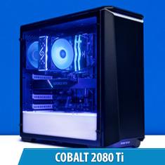 PCCG Cobalt 2080 Ti Gaming System