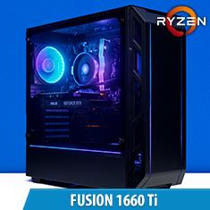 PCCG Fusion 1660 Ti Gaming System