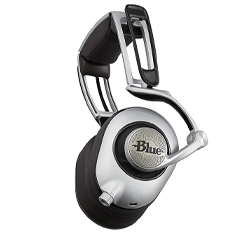 Blue Designs Ella Headphones Silver