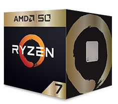 AMD Ryzen 7 2700X Anniversary Edition with Wraith Prism