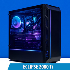 PCCG Eclipse 2080 Ti Gaming System