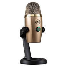 Blue Microphones Yeti Nano USB Microphone Gold