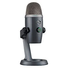Blue Microphones Yeti Nano USB Microphone Grey