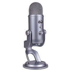 Blue Microphones Yeti USB Microphone Space Grey