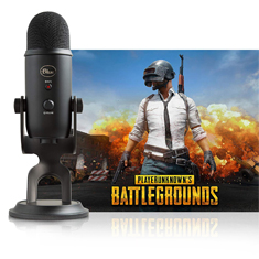 Blue Microphones Yeti Blackout PUBG Bundle Black
