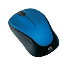 Logitech M235 Wireless Mouse - Blue