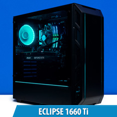 PCCG Eclipse 1660 Ti Gaming System