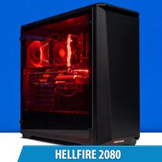 PCCG Hellfire 2080 Gaming System