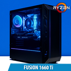 PCCG Fusion 1660 Ti Gaming System