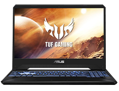 ASUS TUF AMD Ryzen 7 GeForce GTX 1660 Ti 15.6in 120Hz Notebook