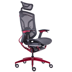GTCHAIR DV-10E Red X-Pace Ergonomic Gaming Chair