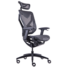 GTCHAIR GR-V7-X Black Vida Ergonomic Gaming Chair