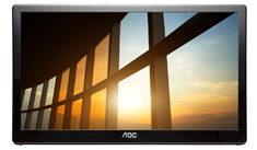 AOC I1659FWUX FHD IPS USB 15.6in Portable Monitor