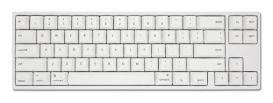 Ducky MIYA Pro Mac Mechanical Keyboard Cherry Silent Red