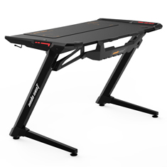 Anda Seat 1200-04 RGB Gaming Desk Black