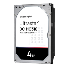 WD Ultrastar DC HC310 4TB 3.5in Hard Drive