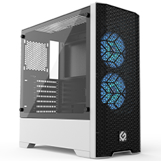 MetallicGear Neo Air Mid Case Black White