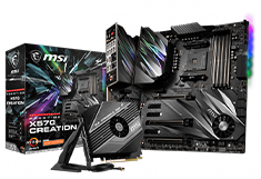 MSI Prestige X570 Creation Motherboard