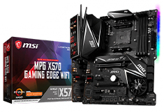 MSI X570 Gaming Edge WiFi Motherboard