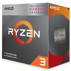 AMD Ryzen 3 3200G APU with Vega 8 Graphics