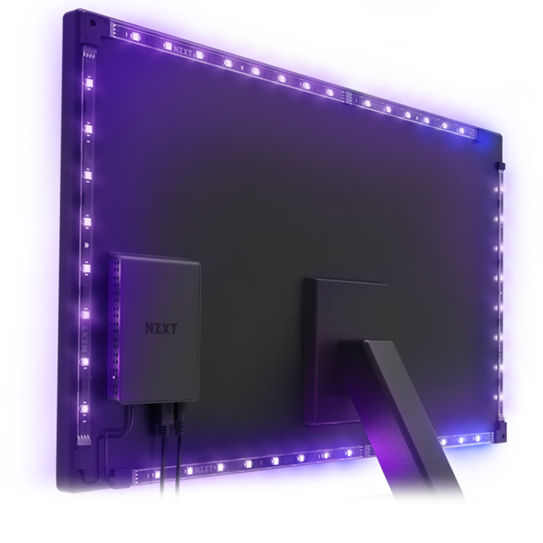 NZXT HUE 2 Ambient Monitor Lighting System 21in to 25in
