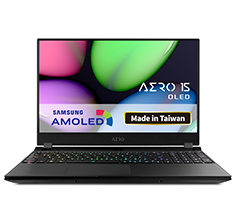 Gigabyte AERO 15 Core i7 RTX 2070 15.6in OLED UHD Notebook
