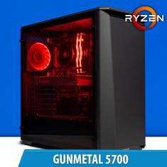 PCCG Gunmetal 5700 Gaming System