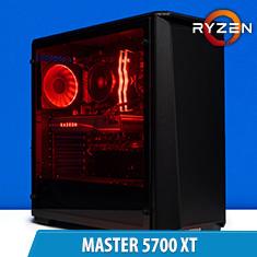 PCCG Master 5700 XT Gaming System
