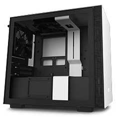 NZXT H210 Mini-ITX Case Matte White/Black